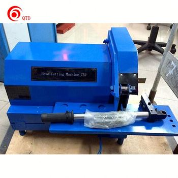 Leading factory price ce iso certification hydraulic hose cutting tool machine