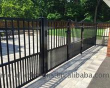 Factory Supplier Adjustable metal fence with dog pickets