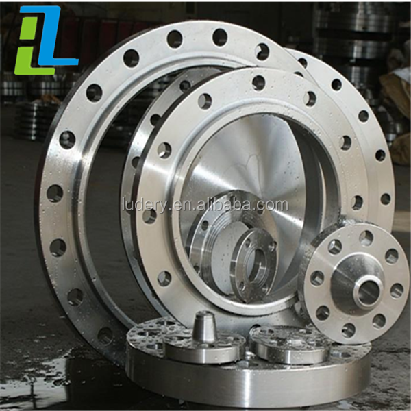 Forged Carbon Steel / Stainless Steel Lap Joint Flange Welding Neck Flange
