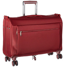 Portable travel carry on wheeled garment bag