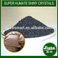 Humic Acid Type Water Soluble Super Potassium Humate Shiny Flake