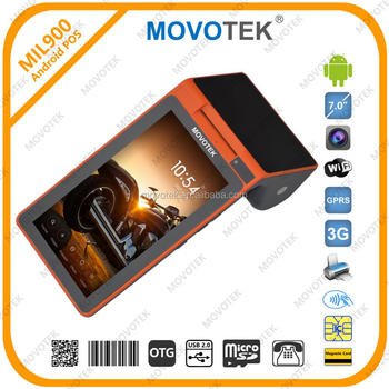 Movotek 7 Inch Android POS Terminal with QR Code and NFC