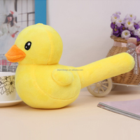 hot selling yellow duck plush toys for claw machine