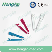 Obstetrics Umbilical Cord Clamp/Umbilical cord clamp for infant/Disposable umbilical cord clamp