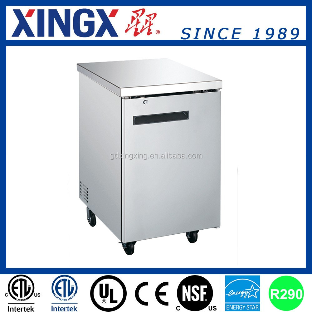 Stainless steel Back Bar Bottle fridges,hotel supplies_UBB-1SS