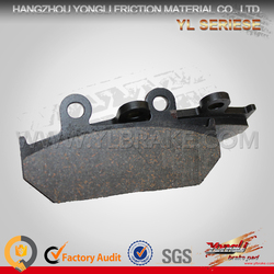Competitive Price Factory Customized Brake Pads Accessories Motorcycle
