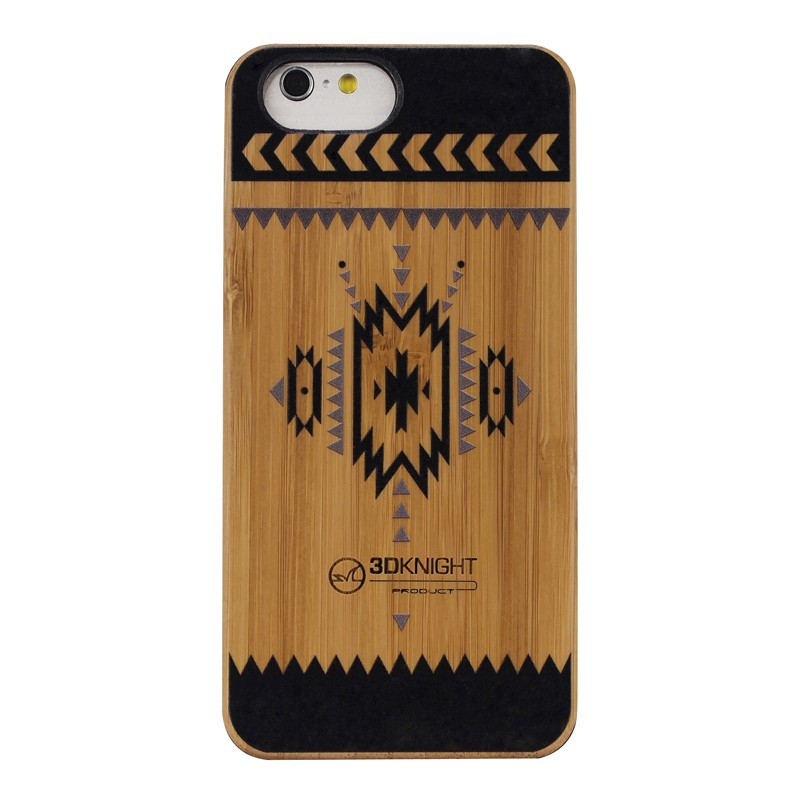 100% Brand New Hot Sale 3D Knight Handmade Nature Protective Wood Cases Wholesale Wood Phone Cover For Iphone 6