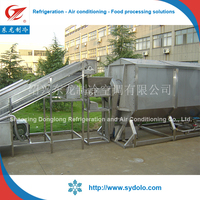 Vegetable and Fruit Spiral Blanching Machine