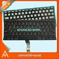 "New US Keyboard with Backlight For MacBook Air 13"" A1369 2011 A1466 2012 2013 2014 2015 Laptop"