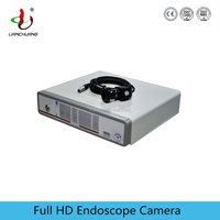 Portable medical 1080p digital endoscope camera with adapters or coupler