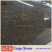 Brown stone of baltic brown granite from Finland for counter top ,tiles