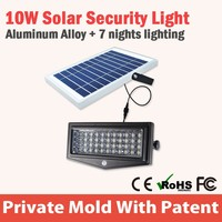 Wireless solar motion detector outdoor security lights,motion sensing flood security light