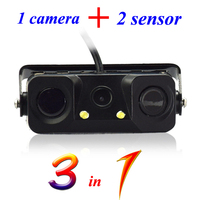 Wholesale mounting autozone backup camera with 2 sensors low MOQ