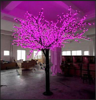 outdoor indoor mini led tree led cherry tree led cherry blossom tree light buy led cherry. Black Bedroom Furniture Sets. Home Design Ideas