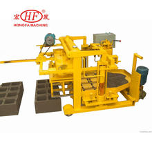 HFB546 extruder concrete block brick making machine price in india