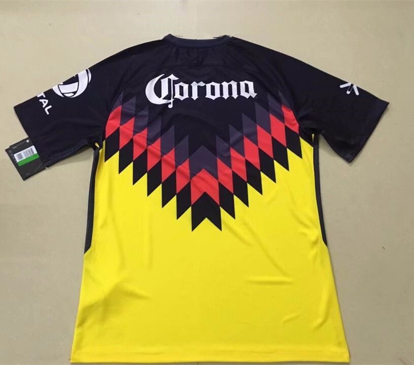 17-18 club america home soccer jersey cheap wholesale wholesale sportswear Mexico jersey
