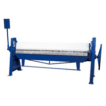 1.2mm carbon steel plate manual folding machine,3 meters metal plate hand bender machine