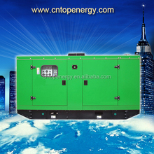 portable 50kva china generators manufacturer 50hz/60hz standby power 40kw soundproof canopy diesel generator