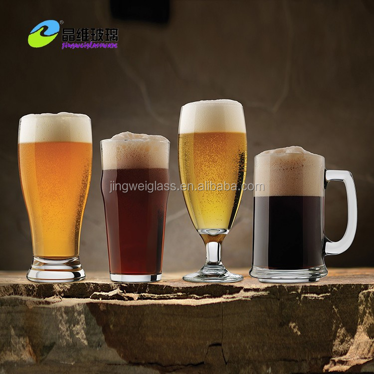 High Quality custom printed pint beer glass tumbler
