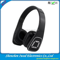 Wireless stereo headphone with sd card slot nature sound mp3 earphone for sony smartphone