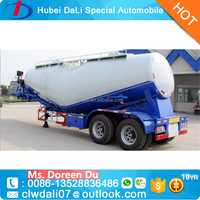 Hot Sell 55 CBM Dry Silos Bulker Semi Trailer/Bulk Cement Trailer for Sale