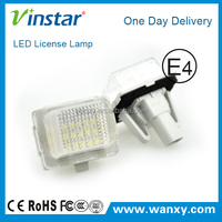 12V W204 W212 number plate lamp for BMW Auto led license plate light