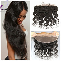 Wholesale Fast Shipping Free Parting Lace Closure, Natural Brazilian Hair Closure, 13*4 Frontal Lace Closure With Bundles