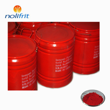 High temperature resistant chilli red color pigment for glass