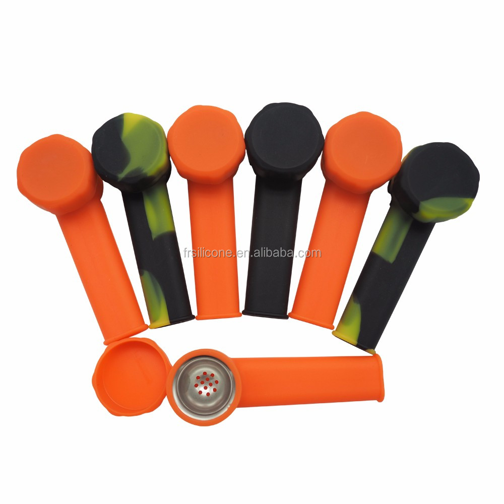New products filter silicone smoking pipe, silicone tobacco pipe, smoke holder