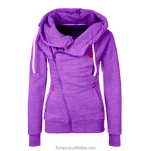 Ladies Chic style long Hoodies Customised Printed <strong>logo</strong> Sweatshirts slim fit
