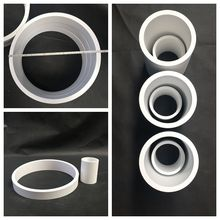 China Supplier Ash Conveying Pipe Lined Alumina Ceramic Tube