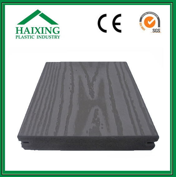 washable pvc wall panels panel wood WPC/PVC Decking and Wall Panel No screw CE,SGS,ani-UV