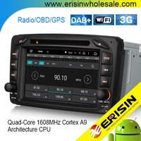 "Erisin ES4507B 7""Android 21 Car DVD GPS Navigation for C-Class W203 S203"