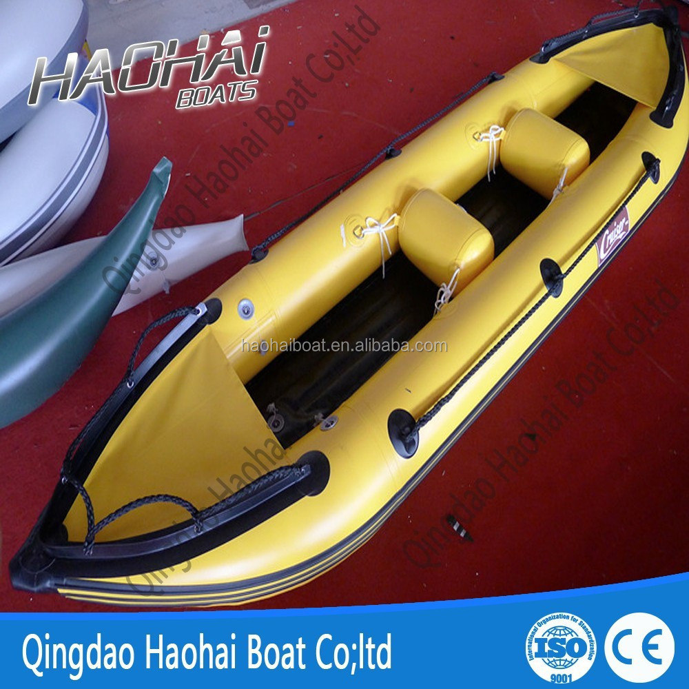 365cm water sport rubber best inflatable fishing canoe for Best inflatable fishing kayak