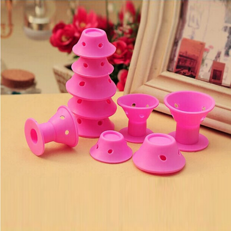 Custom Curler Makers Soft Silicone Curl Tool Diy Styling Hair Rollers