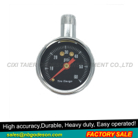 Heavy Duty Dial Type Gauge,steel case and ring, with heavy duty zinc alloy dual chuck