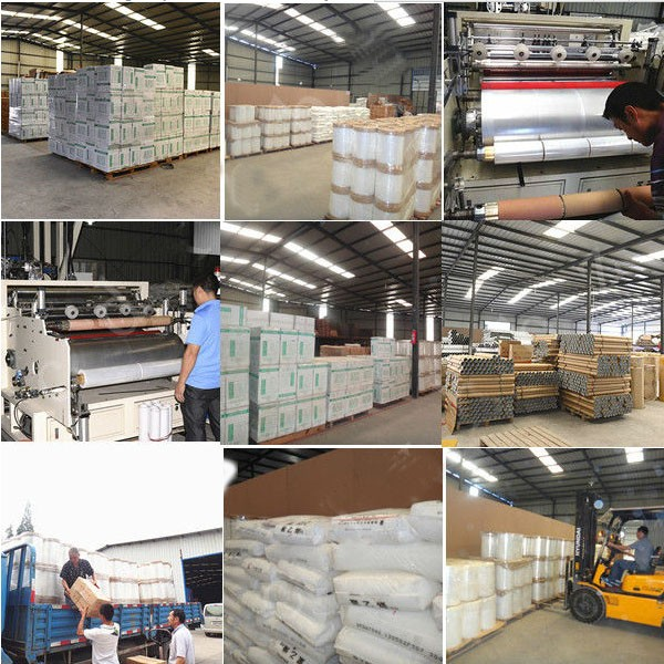 PE stretch film 50cm wide stretch film pallet stretch film packaging