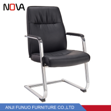 Stainless Stel Frame Swivel Office Chair no Wheels