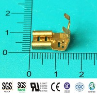 high performance auto electrical brass FLAG crimp terminal, car battery terminal, metal stamping terminals
