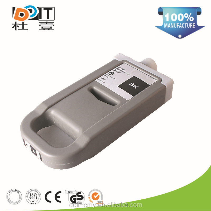 Hot sell large format printer compatible ink cartridge for canon pfi701
