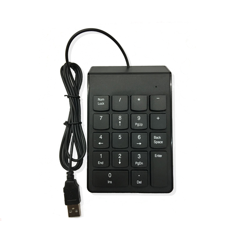 Wholesale Wired Numeric Keybard Drivers USB Mini Keyboard For Office Business Accounting