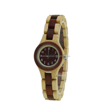 Latest Designs For Ladies New Trend Slim Style China Factory Wood Watches Pro-Environment Souvenir Watch