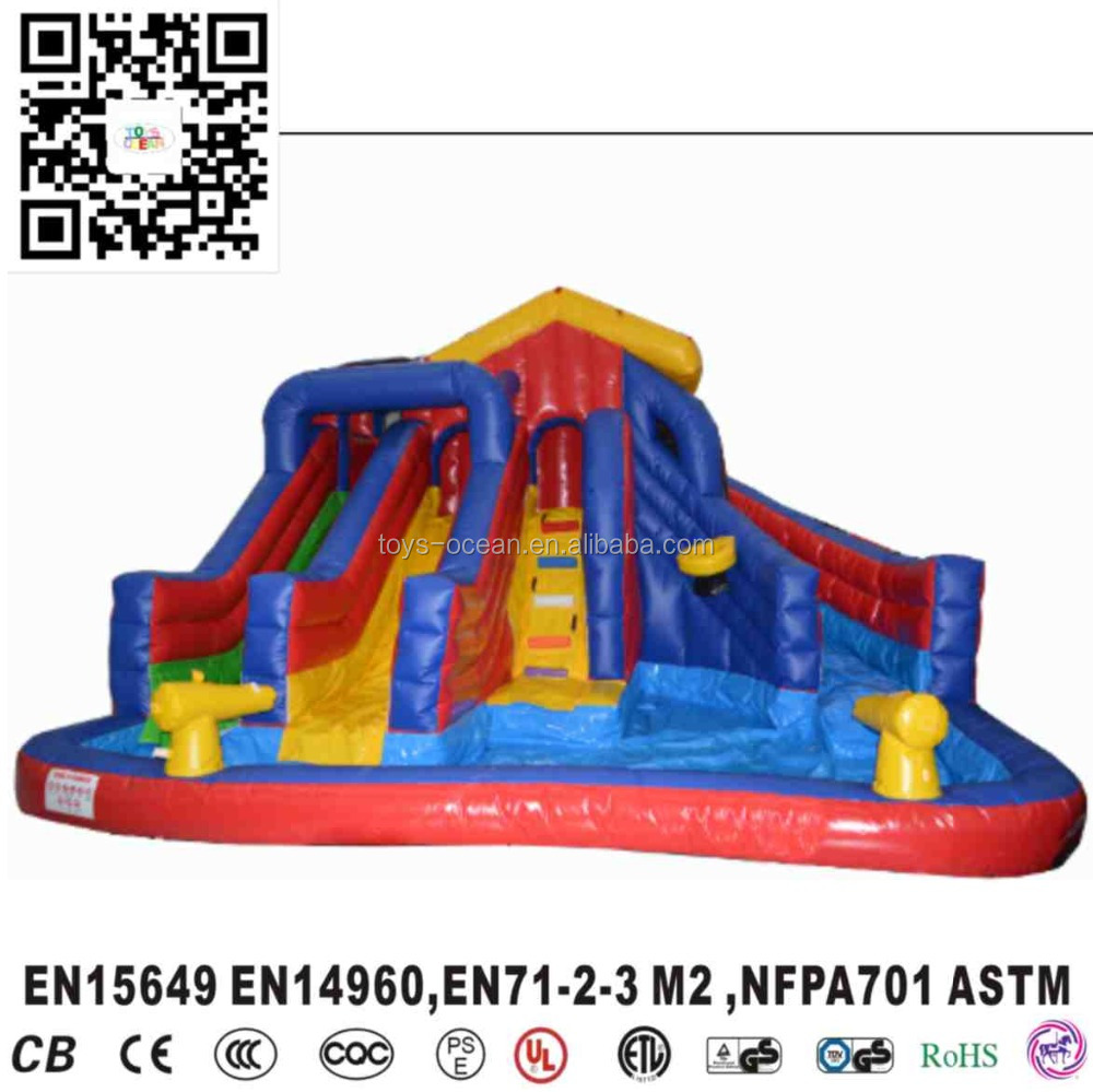 Inflatable three slides Kids Giant Inflatable Slide for Sale