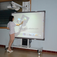 IR multi-touch interactive whiteboard, interactive touch board for school