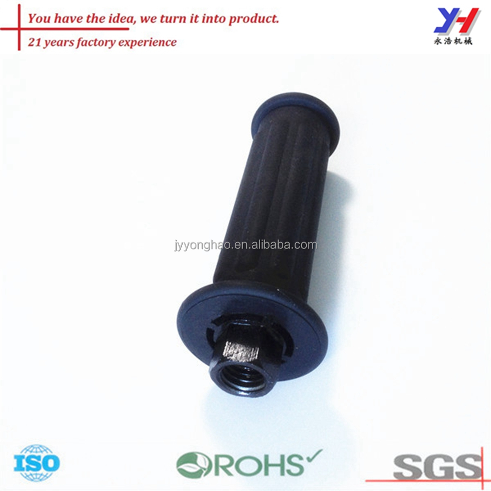 OEM ODM Custom Made Silicone Rubber Shock Absorbing Fitness Equipment Handle Bar