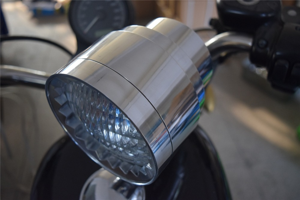 custom headlight for harley. motorcycle headlight for bobber