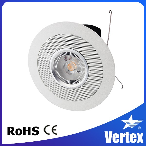 Bluetooth Speaker with LED Music Lights 6IN 110~120V 15W Bluetooth DOWNLIGHT