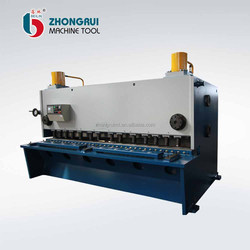 qc11y- 6x 2500 mm hydraulic angle cutting machine adjustable raking angle guillotine shearing machine