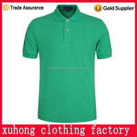 OEM manufacturers Promotion polo with logo 100% cotton short Sleeves custom embroidered polo shirts