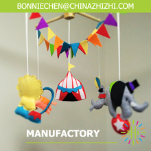 New Design Popular Fashional Cute Circus Baby Mobile Hanger Toys